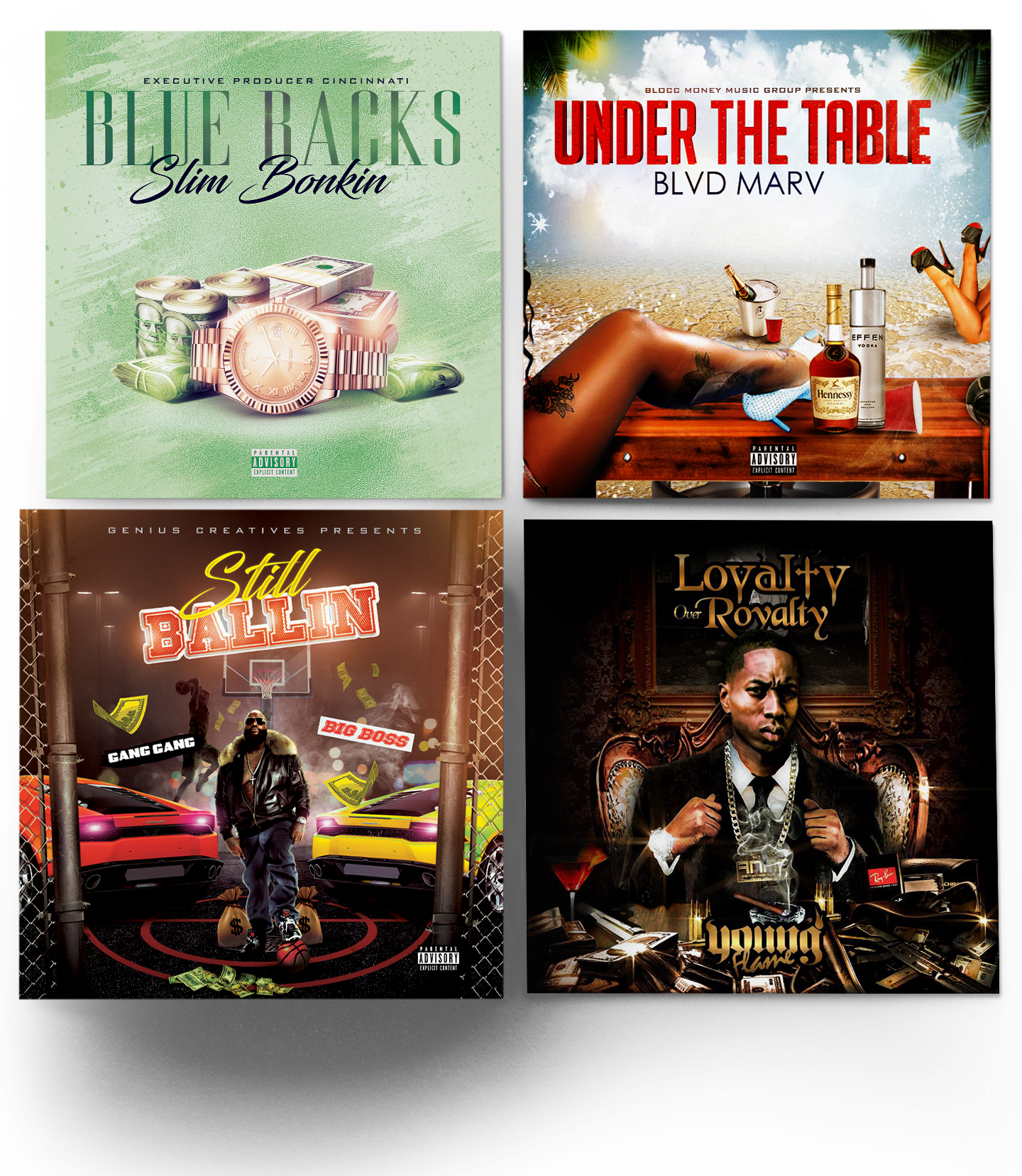 mixtape cover designs layout