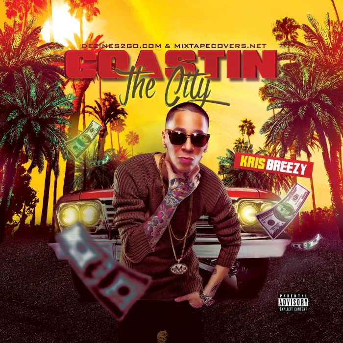 Coastin the City Mixtape Cover Template