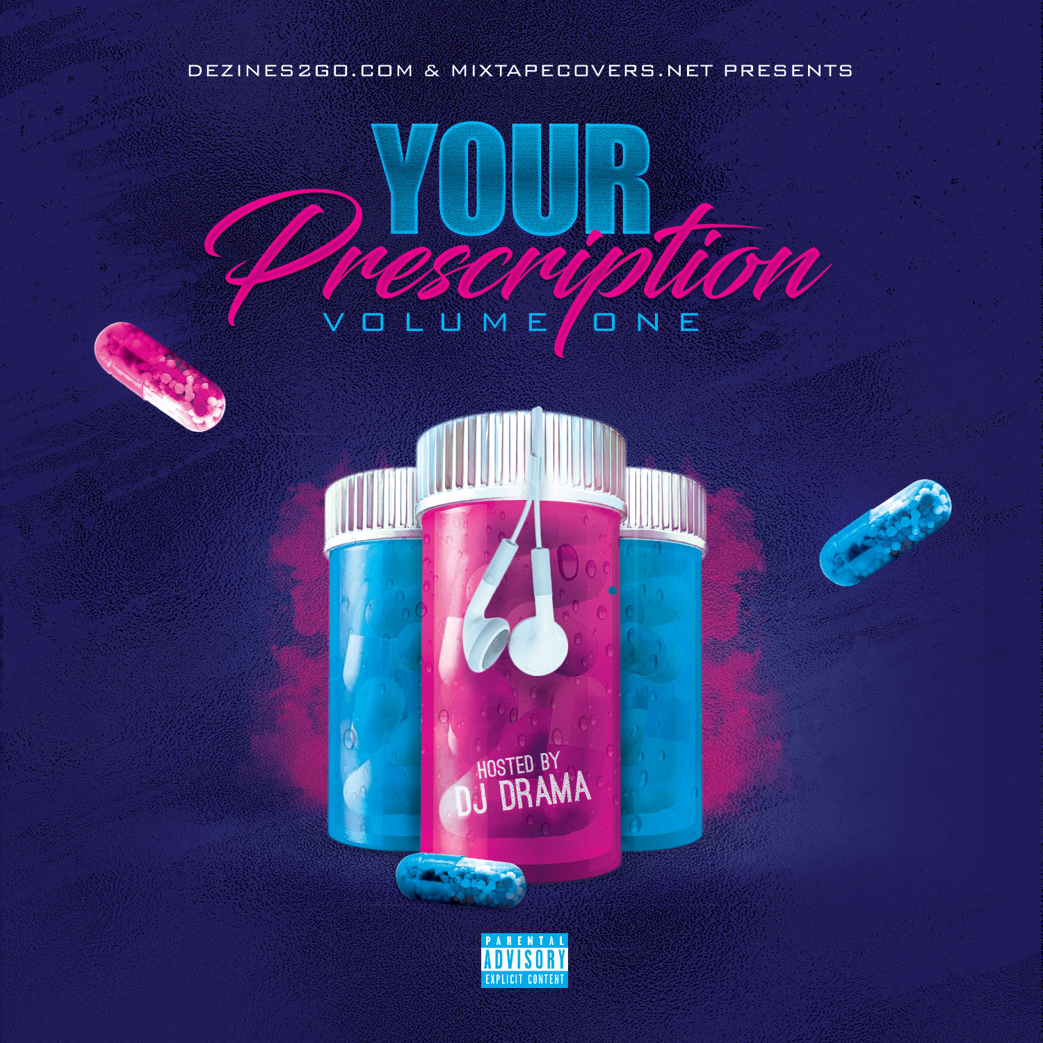 Your Rx Mixtape Cover Template