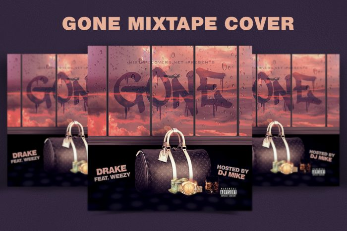 Gone-Mixtape-cover-template