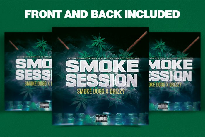 Smoke Sessions Mixtape Cover Template 2