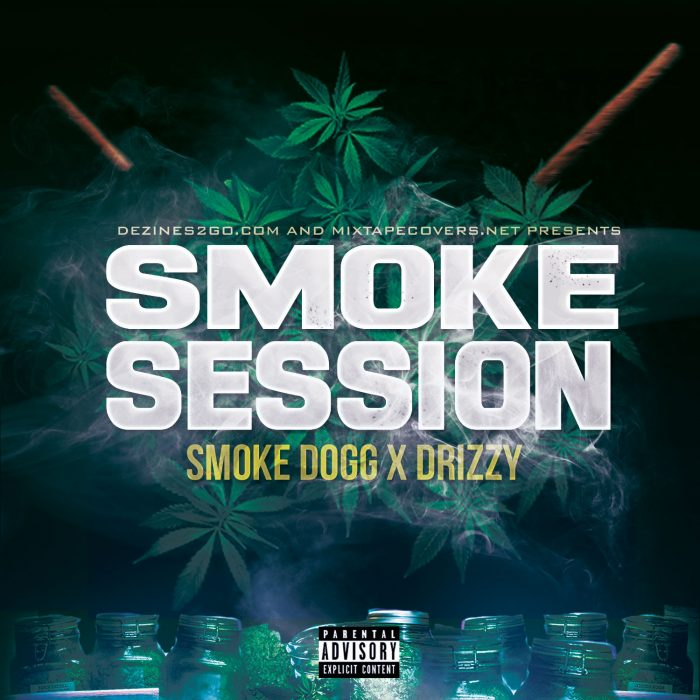 smoke sessions mixtape cover template