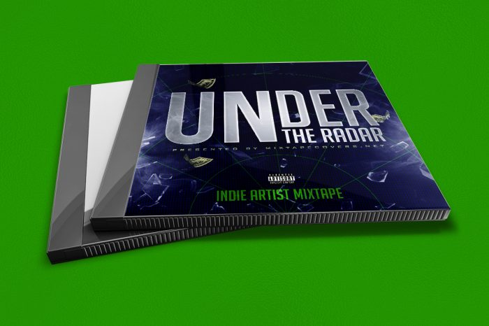 under the radar mixtape cover design