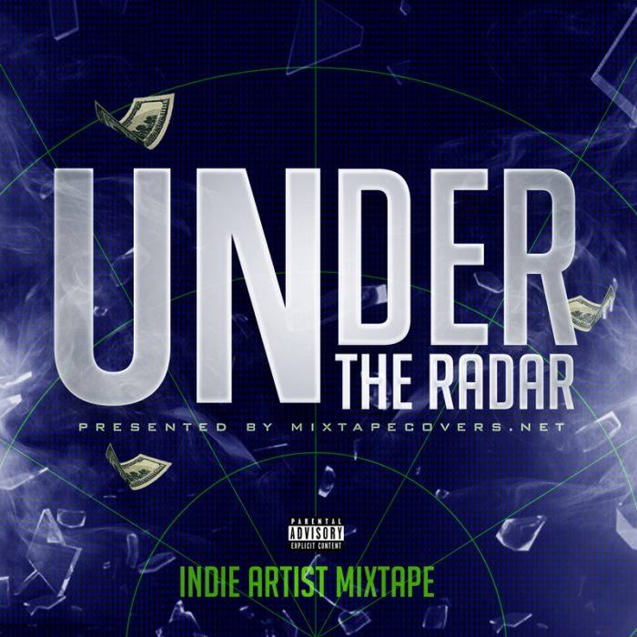 under the radar mixtape cover design template