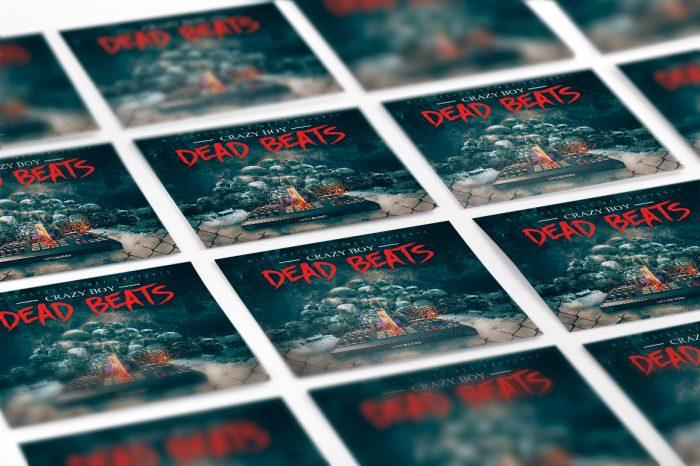 Dead Beats Mixtape COVER template mixtape psd album cover template