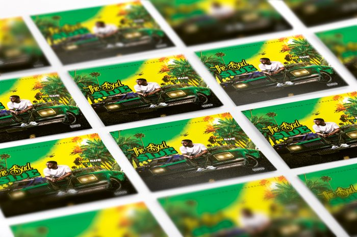 The Bad Side Mixtape Cover mixtape psd album cover template
