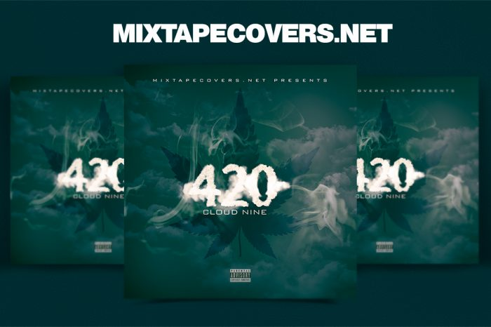 420 Mixtape Cover Template mixtape psd 420