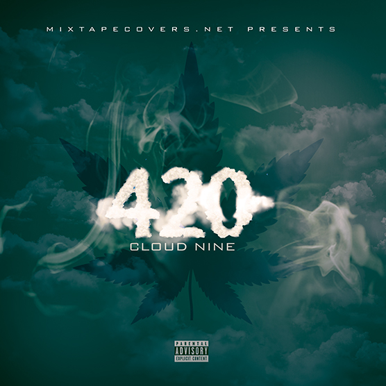 420 Mixtape Cover Template