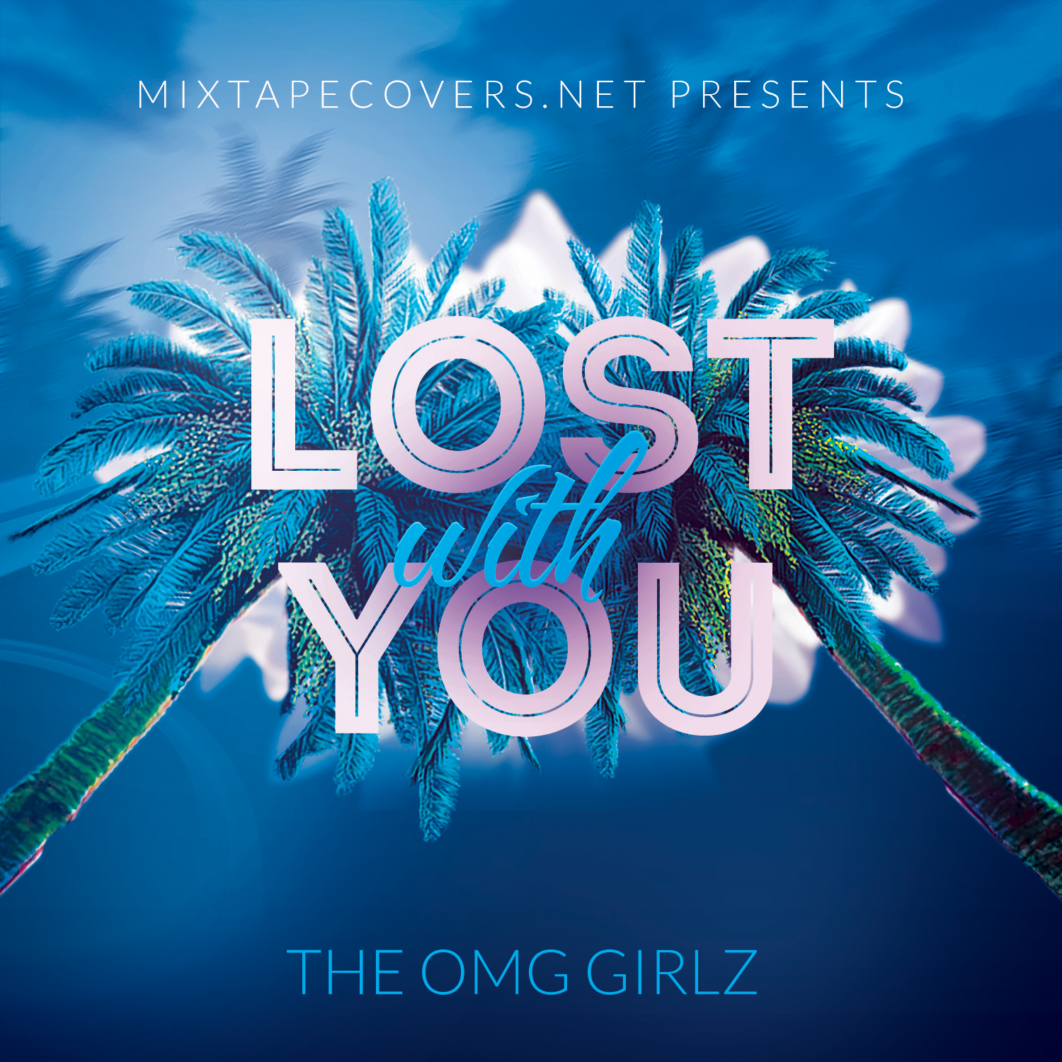Lost With You Album Cover Template Mixtapecovers Net