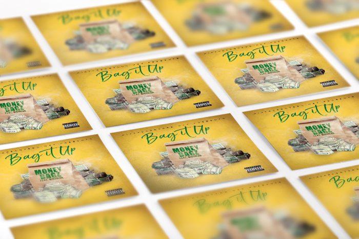 The Bag It Up Mixtape Template mixtape psd album cover template