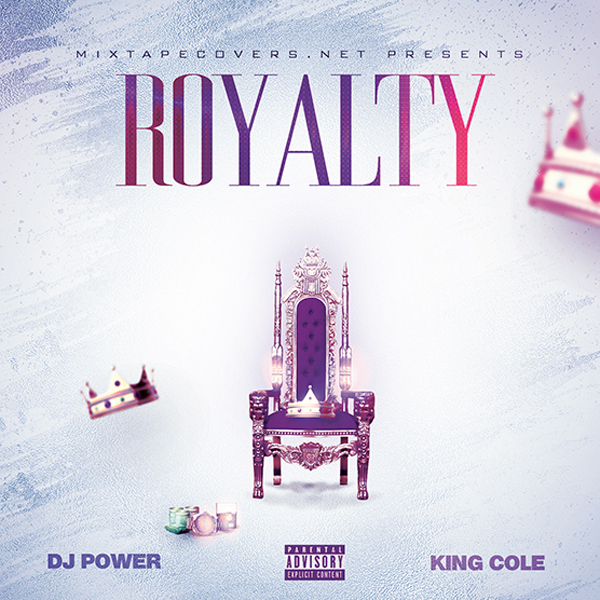 Royalty mixtape cover template for Free mixtape covers templates