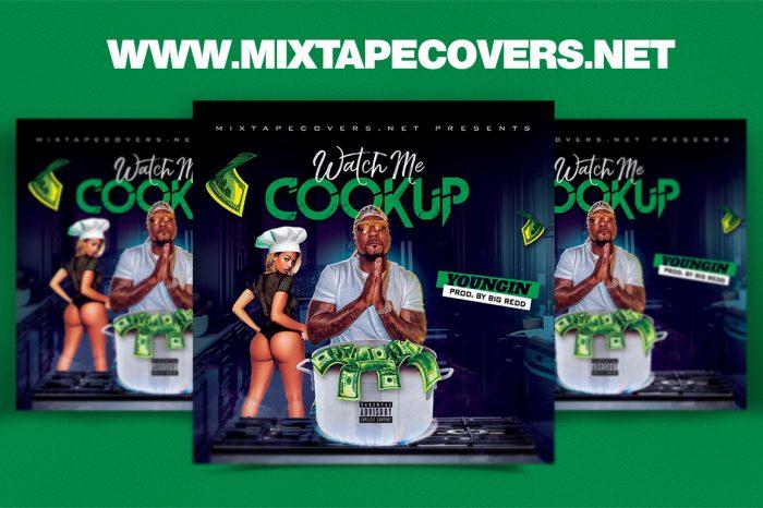 Watch Me Cookup Mixtape Template mixtape psd 420