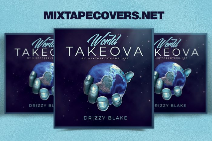 World Takeova Mixtape Cover Template mixtape psd album cover template