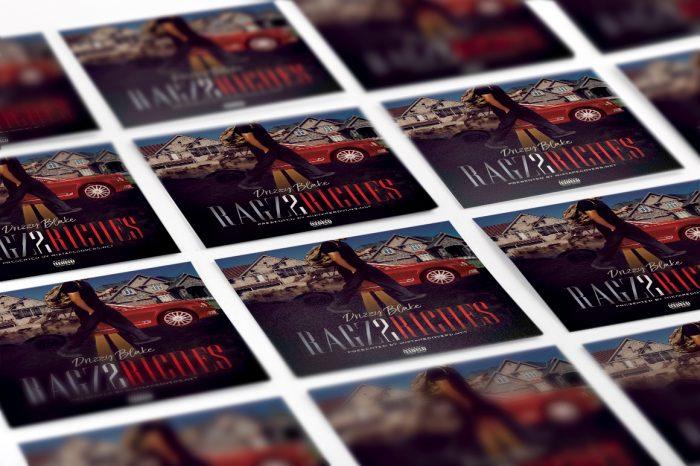 Ragz to Riches mixtape psd album cover template