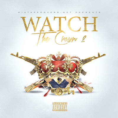 Mixtape cover design templates psd mixtapecovers watch the crown 2 maxwellsz