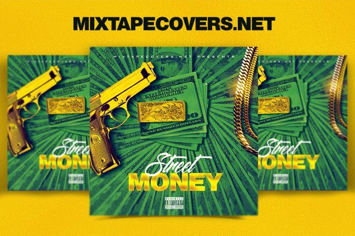 Street Money Mixtape Cover Template mixtape psd artist