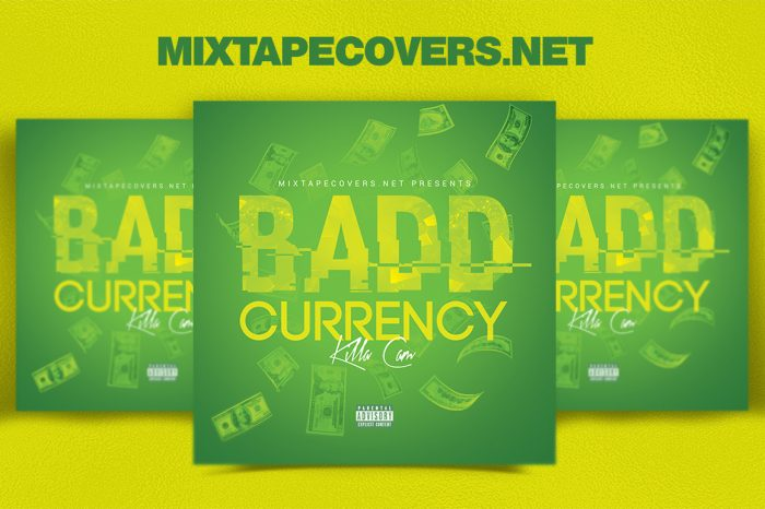 Bad Currency Cover Design mixtape psd album cover template