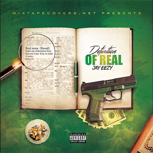 Definition of real mixtape cover design mixtape psd album cover template