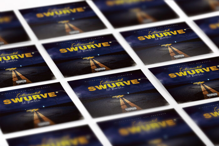 Intoxicated Swurve Cover Template mixtape psd album cover template
