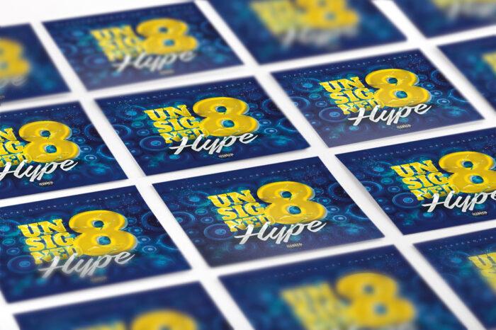 Unsigned Hype mixtape psd album cover template