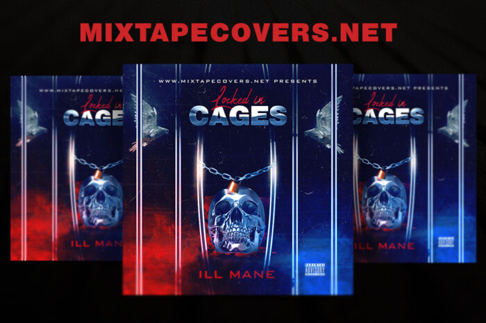 Locked in Cages Mixtape Cover Templates mixtape psd artist