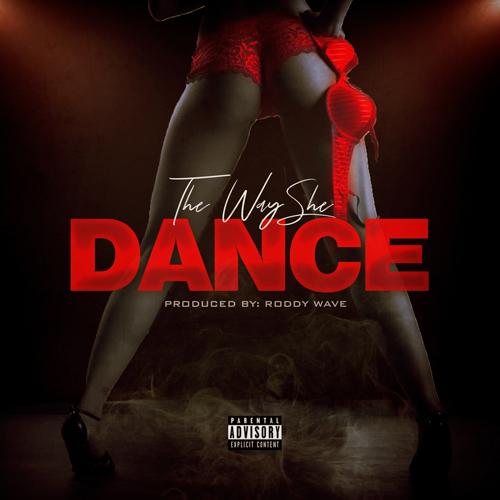 The Way She Dance Mixtape Cover mixtape psd album cover template