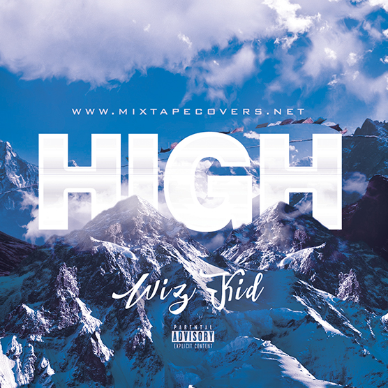 High Mixtape cover template. Perfect Design for 420 and the weed smokers