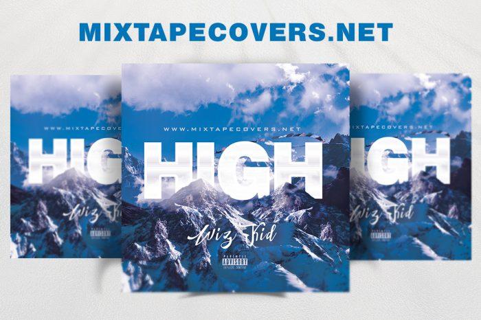 GET HIGH 420 Mixtape Cover Template mixtape psd 420