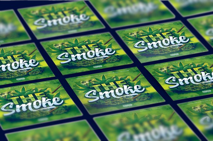 The Smoke Mixtape template mixtape psd 420
